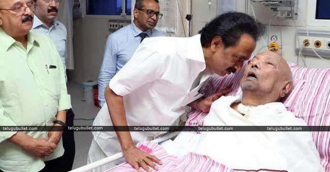 Sri M.Karunanidhi Has Died....