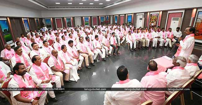 TRS is planning to bag a minimum of 25 seats