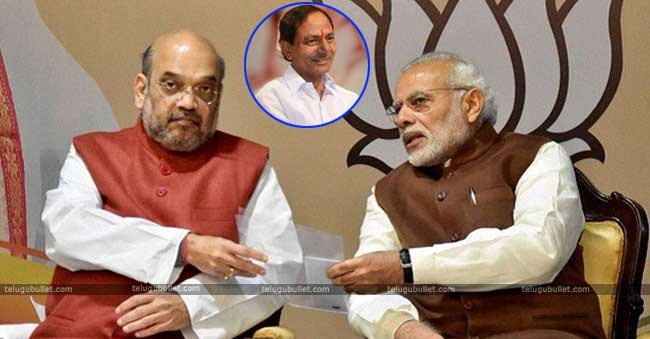 The BJP National head Amit Shah landed