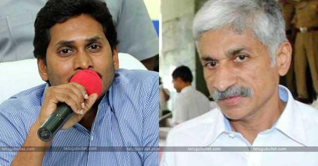 Vijaya Sai Reddy and jagan