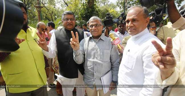 NDA Win in Rajya sabha