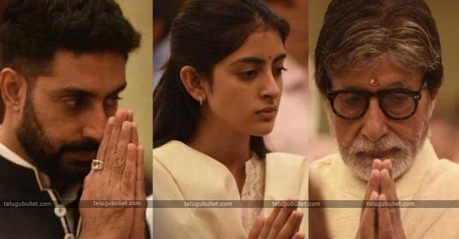 prayer meet of Late Rajan Nanda