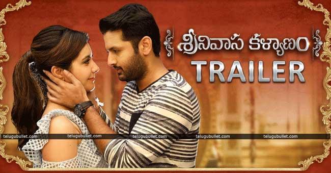 nithin and rashikhanna, rashikhanna, Srinivasa Kalyanam movie, srinivasa kalyanam movie trailer, Srinivasa Kalyanam trailer