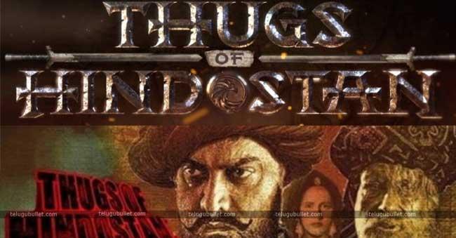 Aamir khan - Big B's Thugs Of Hindostan Logo Released