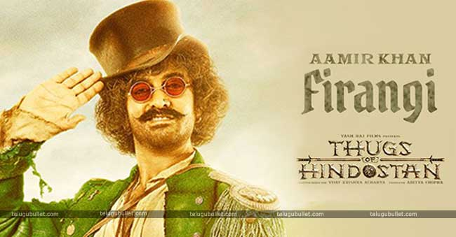 Aamir's character appears somewhat woozy