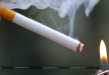 Challan Issued For Smoking Cigarette