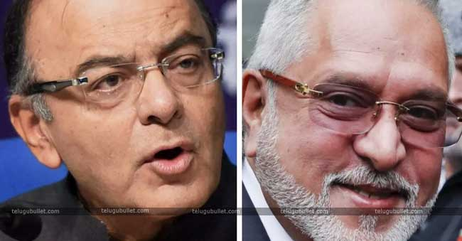 Congress And BJP War Of Words Amid Mallya