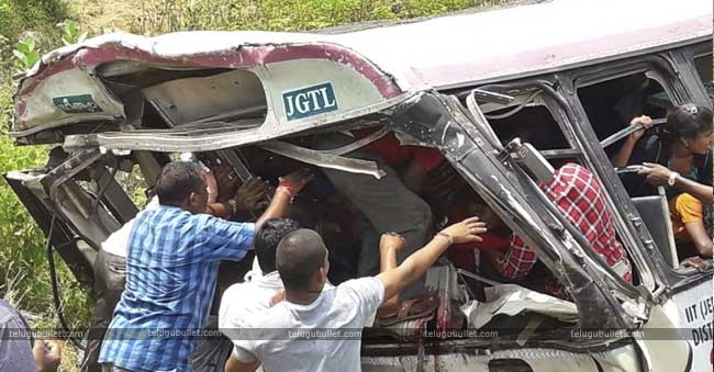 Driver Is The Culprit In Telangana Bus Accident