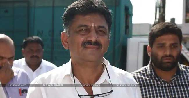Election Department Case Against Karnataka Minister Sivakumar