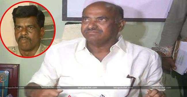 Ex-Minister JD Diwakar Reddy once again made news