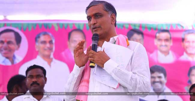 Harish Rao who is the present agriculture minister of Telangana