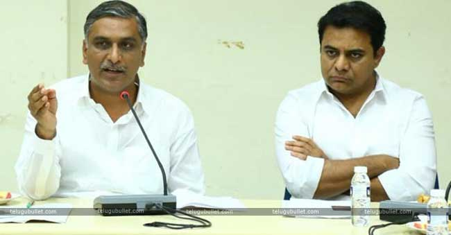 KCR Proves His Close Bonding With Harish Rao Yet Again