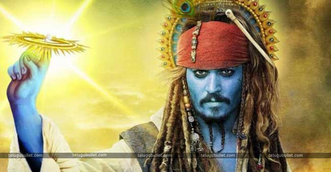 Johnny Depp Character Was Inspired By Lord Krishna Telugu Bullet