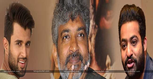 Jr NTR and Vijay Devarakonda in Rajamouli Direction