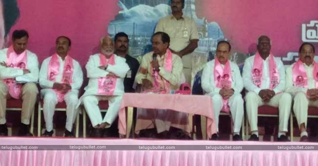 KCR has also announced the 105 candidates