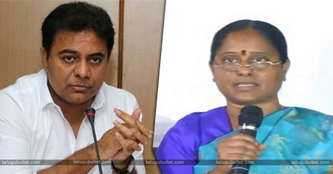 Konda Surekha Blames KTR For His Ticket Denial