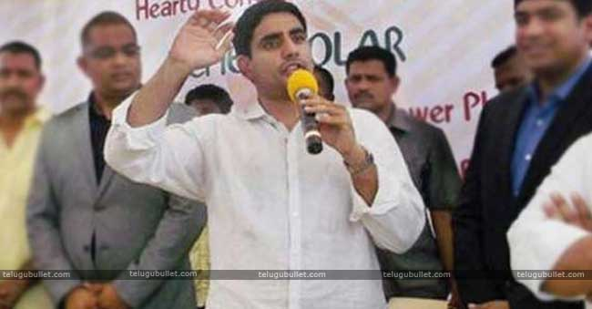 Lokesh ended his attack on KCR