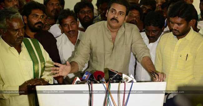 Maha Murthy declared that Janasena's secret meeting