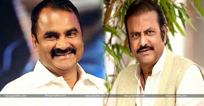 Mohan Babu and Allu Arjun's father