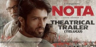 NOTA Telugu Movie Official Trailer
