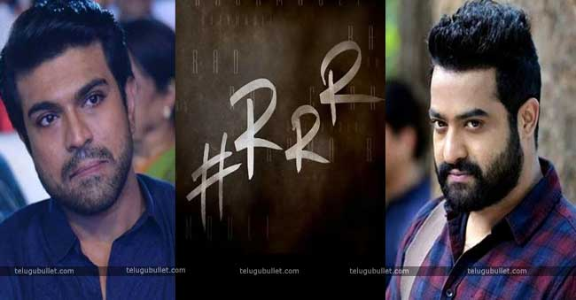 NTR and Ram Charan in the lead roles