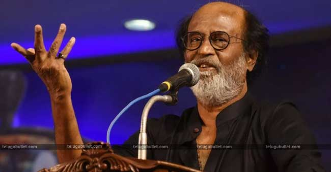 Rajinikanth Still Keeping A Distance From Regular Politics