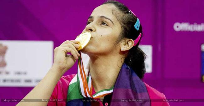 Saina-gold-medal