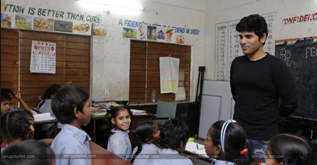 Sirish-in-school