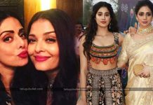 Sridevi Statue And Aishwarya Rai & Jhanvi Kapoor Awards