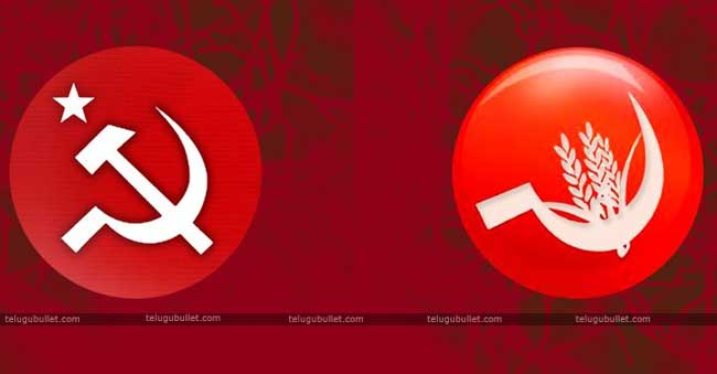 The two left parties CPI and CPM