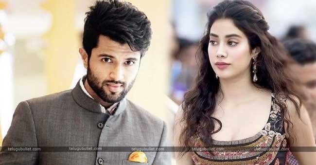 Vijay Devarakonda To Romance With Jhanvi Kapoor