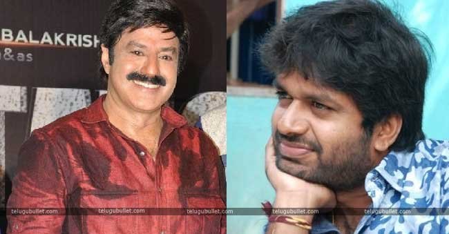 Young Director Anil Ravipudi and balakrishna