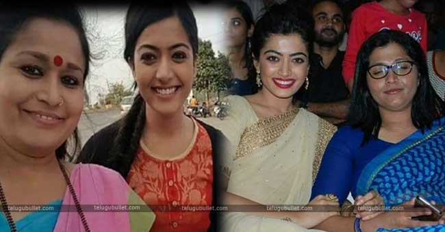 rashmika mandanna her mother