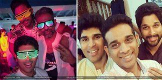 Allu Arjun, Allu Venkatesh, Allu Sirish - The Allu Brothers