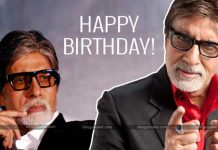 Amitabh Bachchan and he crossed