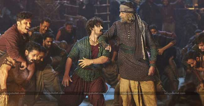 Amitabh Bachchan is playing the role as Khudabaksh