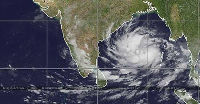 Cyclone Title hits Andhra Pradesh