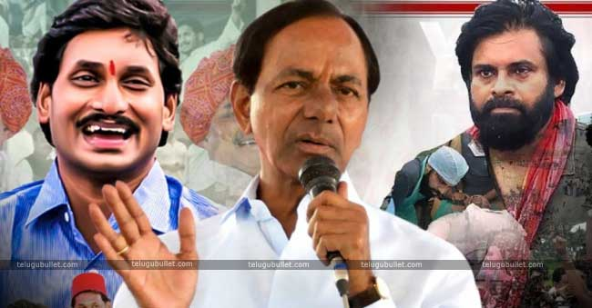 KCR Uniting Jagan And Pawan In Telangana