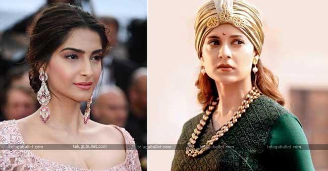 Kangana Ranaut Fires On Sonam Kapoor