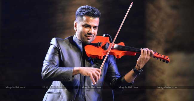 Balabhaskar who has started his music career
