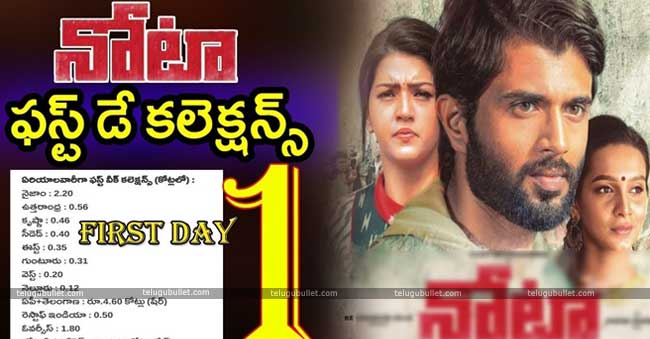 NOTA First Day Collections