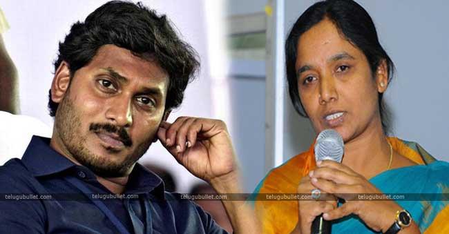 Paritala Sunitha has also stated that Jagan
