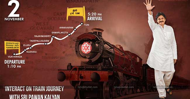 Pawan Kalyan has also announced his upcoming campaign