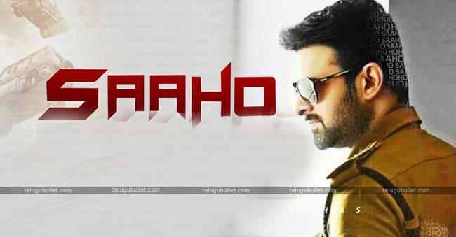Prabhas Saaho Movie