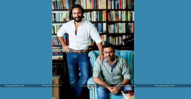 Previously Saif Ali Khan and Dinesh Vjian