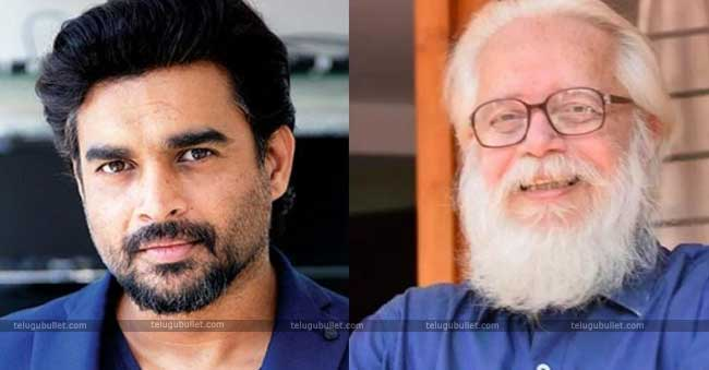 R Madhavan is playing the role of Nambi Narayanan