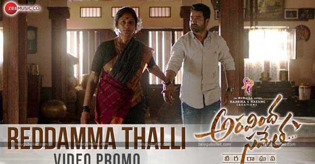 Reddamma Thalli video promo