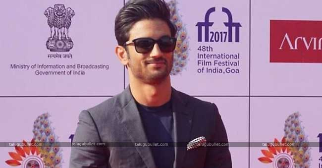 Sushant is a multifaceted actor