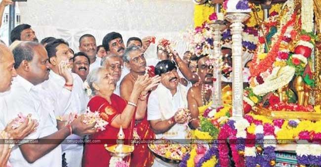 The Karnataka CM Kumaraswamy