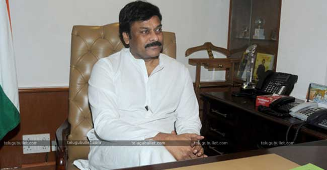 The megastar Chiranjeevi is busy with many